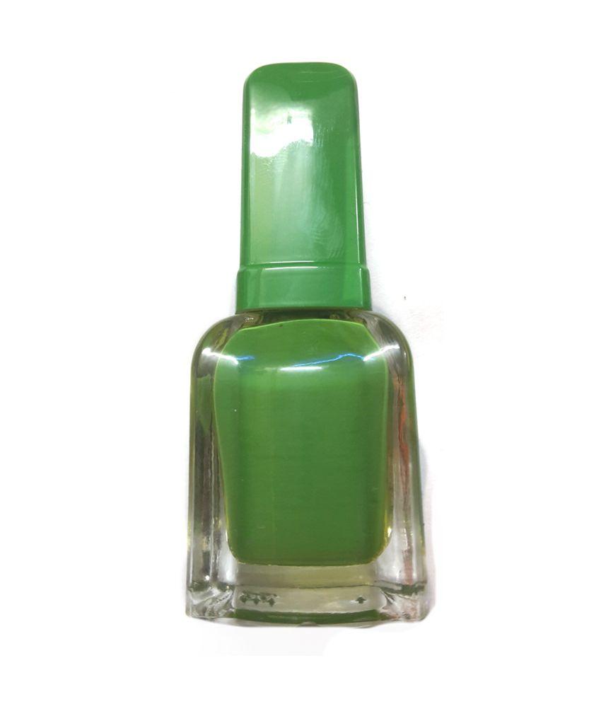 Leysha Nail Art Green Nail Polish And Nail Polish Remover