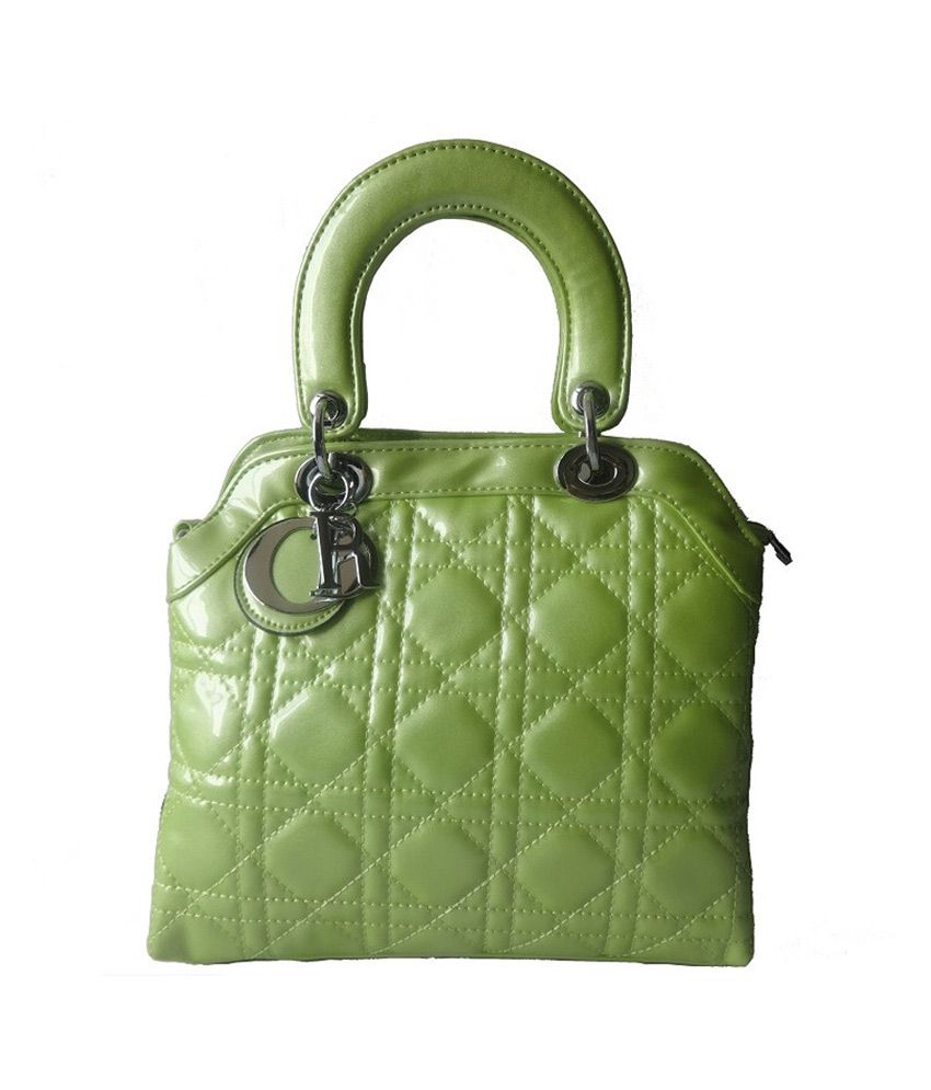 Kaprine Green Woman Hand Bag