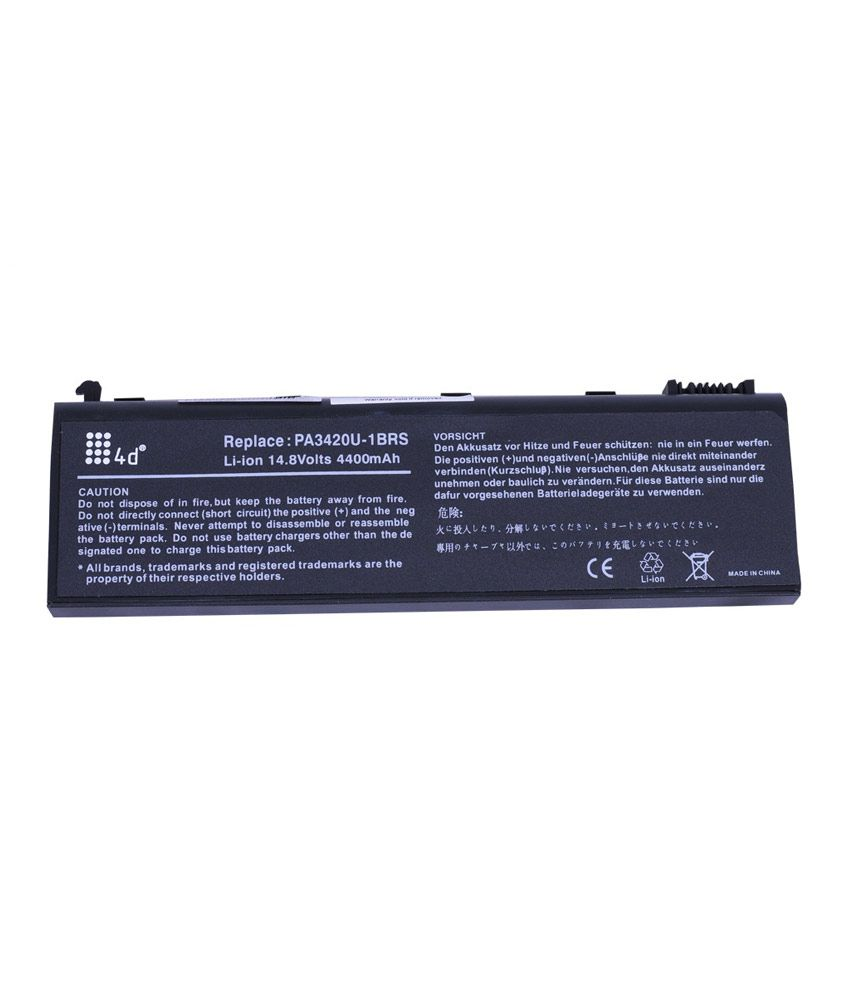 4d Toshiba L10-118 6 Cell Laptop Battery
