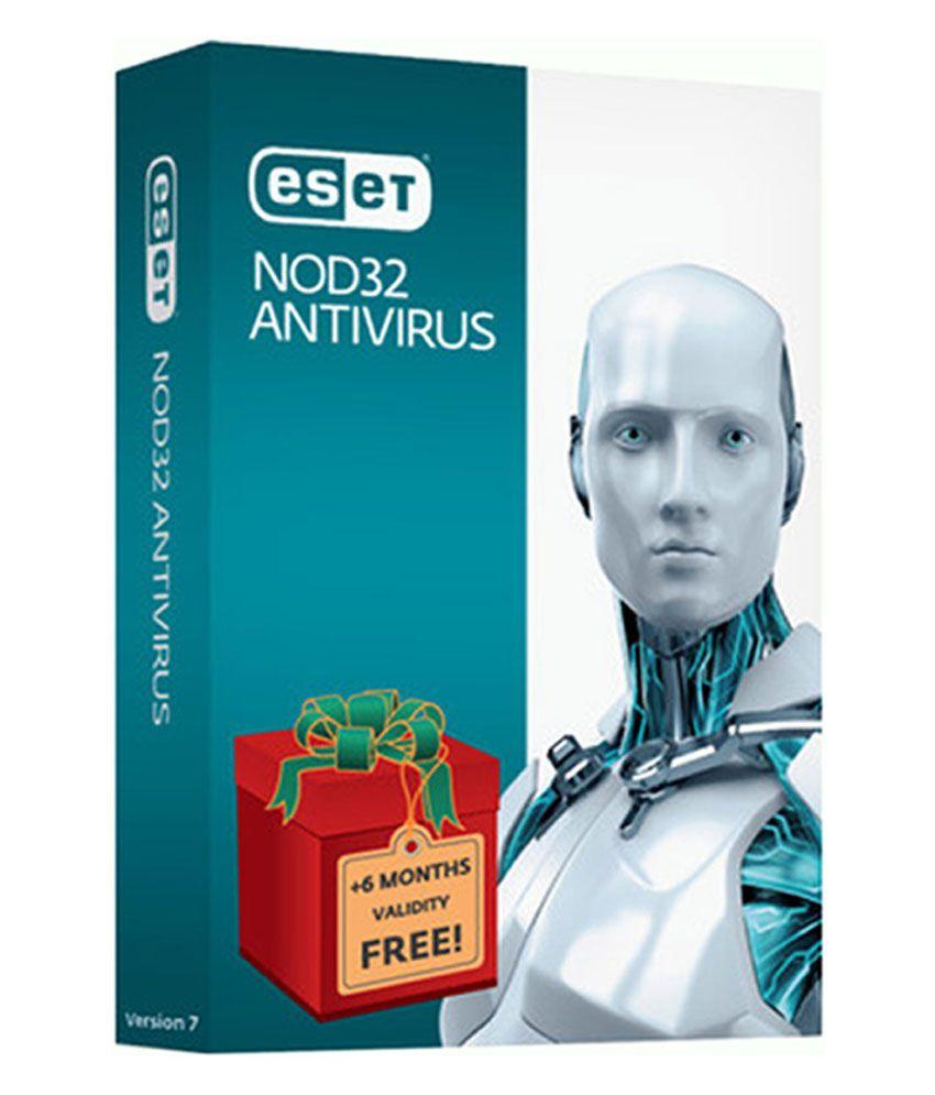 Eset nod32 antivirus version 7 2014 3 pc 1 year