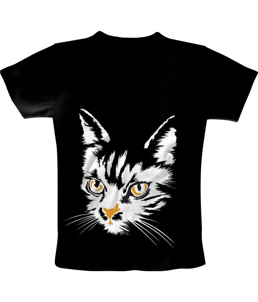 Freecultr Express Black Cotton Blend T-shirt