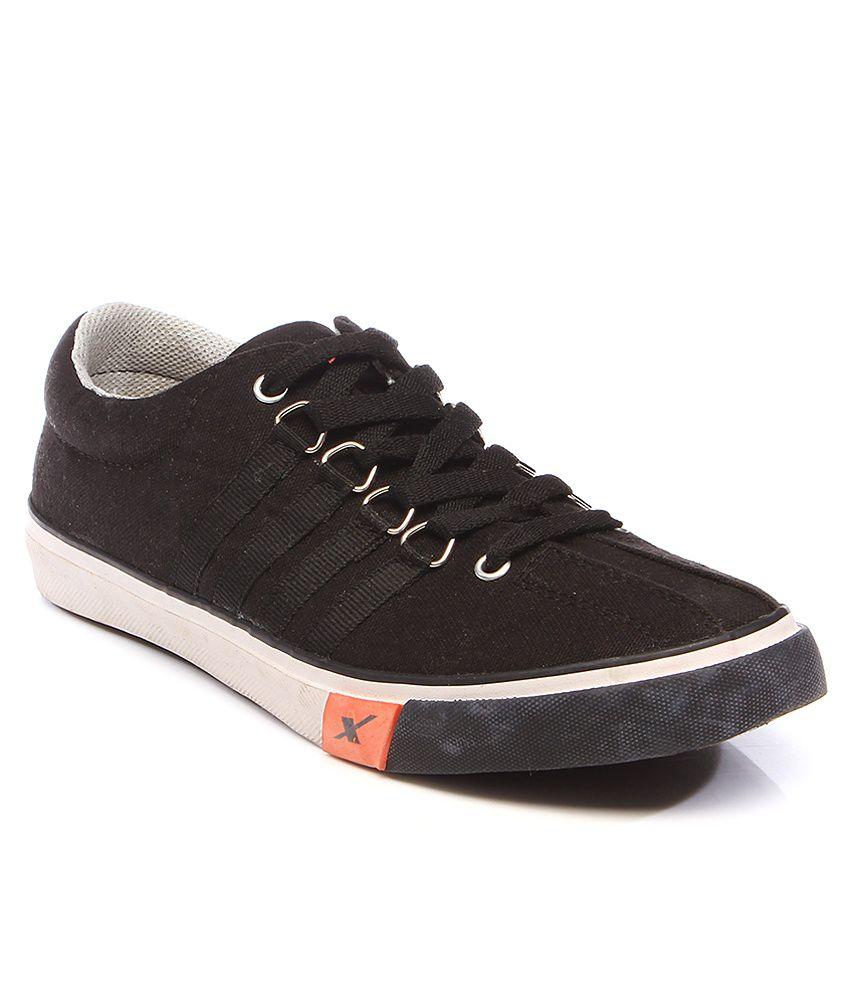 Sparx Black Casual Shoes Price in India- Buy Sparx Black ...
