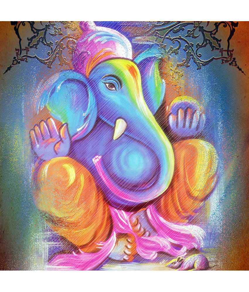 Art Factory Ganesha Canvas Painting Art Factory
