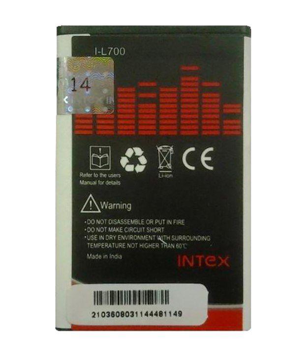 Intex L700 Battery for Samsung Corby, S3653, B5310 (900 mAh)