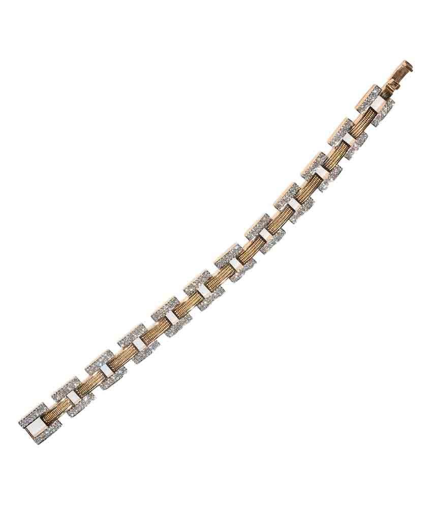 Jain Jewellery House Traditional 18kt Gold Diamond Bracelet Buy