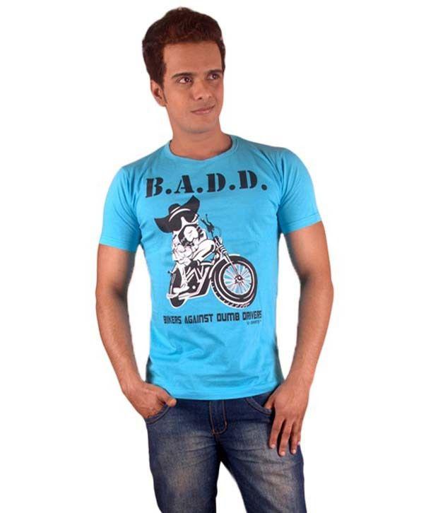 Ushirts Men Cotton Printed Tshirts