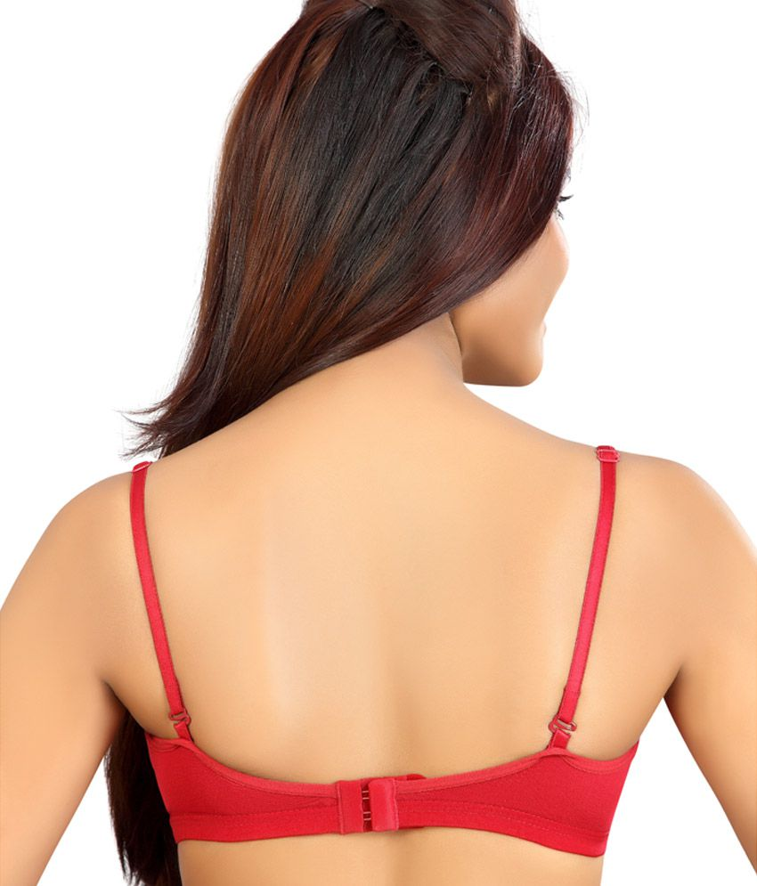af6aa2ea77ba0 Buy Alisha Wine Cotton Bra - 32B Online at Best Prices in India ...