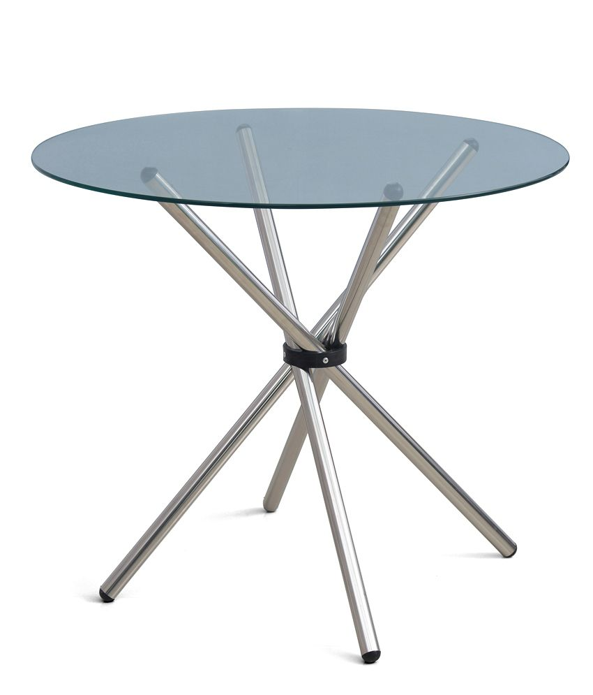 Nilkamal Indiana Round Dining Table Clear Buy Nilkamal Indiana