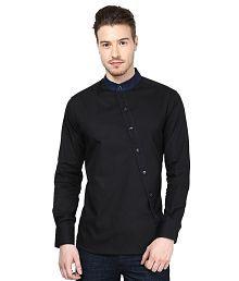Dazzio Black Partywear Shirt