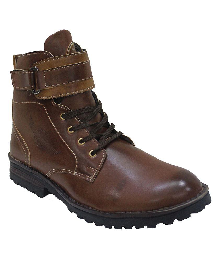 Best Walk Blinder Brown Men Boots