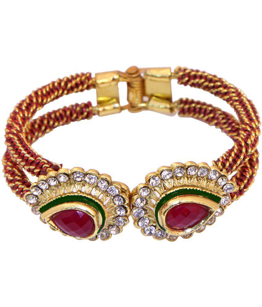 Vaishali Bindi And Bangles Gold Stunning Look Designer Bracelets