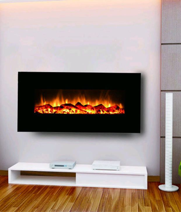 3 in 1 electric fire place lcd heater and showpiece with remote 4 rh snapdeal com