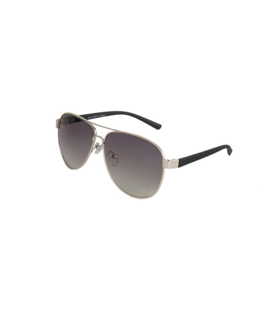 Stol'n Brown Aviator Casual Sunglasses For Women
