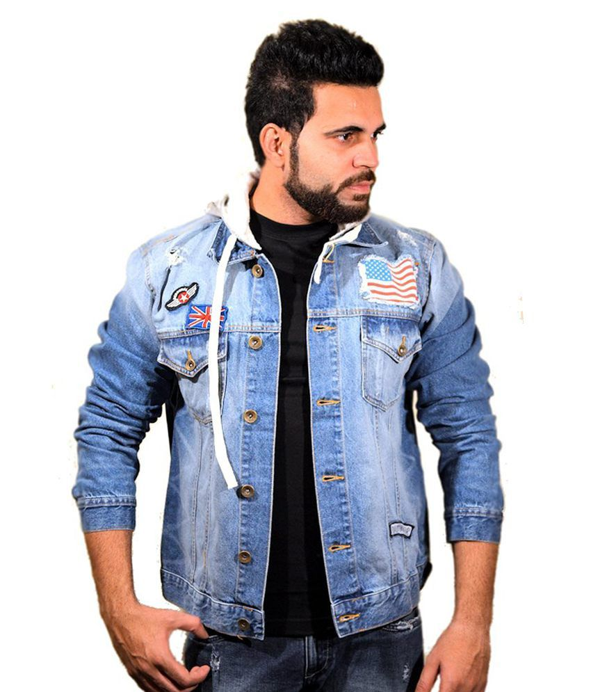 0b1ad21b213e Agile Rugged Wear Light Blue Vintage Wash Denim Jacket With Detatchable  Hood - Buy Agile Rugged Wear Light Blue Vintage Wash Denim Jacket With  Detatchable ...