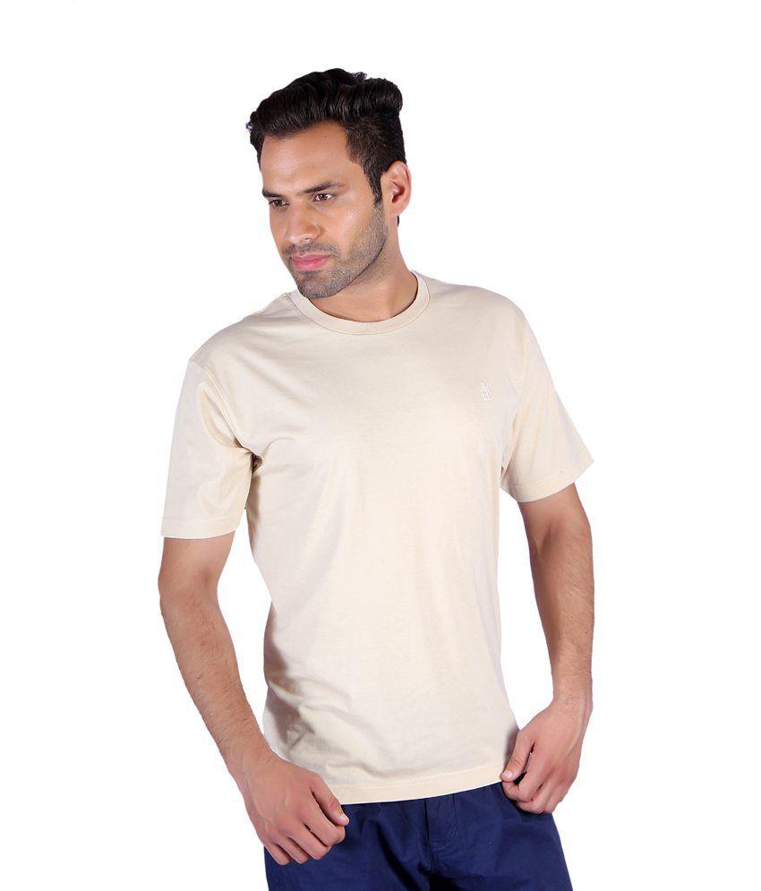 Humbert Beige R-neck T-shirt