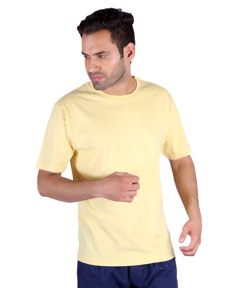 Humbert Yellow R-neck T-shirt