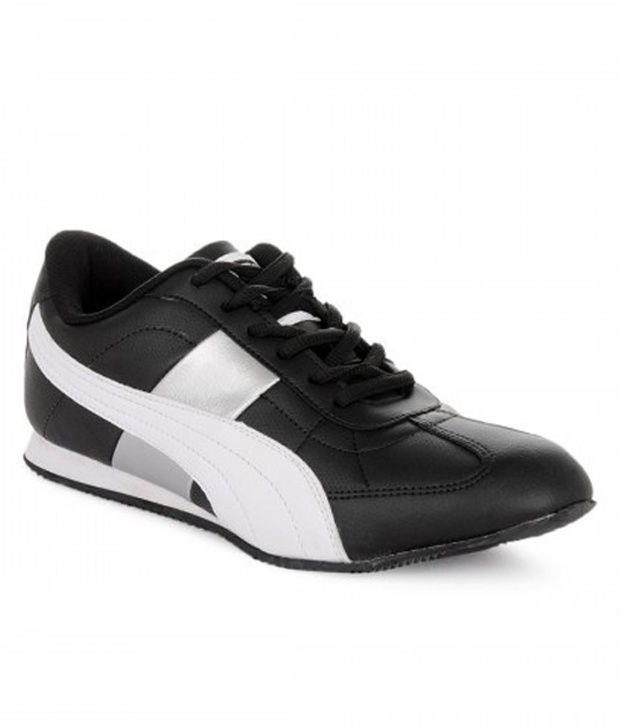 6c13262e916b Puma Black   White Smart Casuals Shoes - Buy Puma Black   White Smart  Casuals Shoes Online at Best Prices in India on Snapdeal