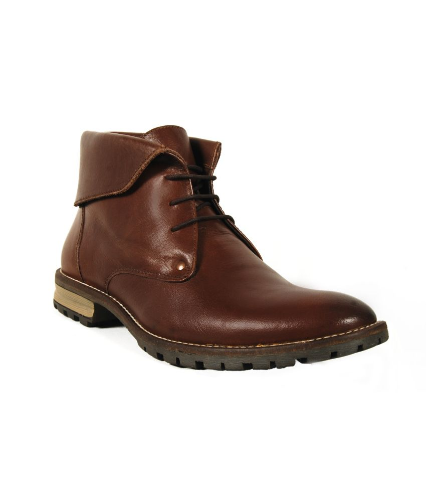 Trees Brown Boots