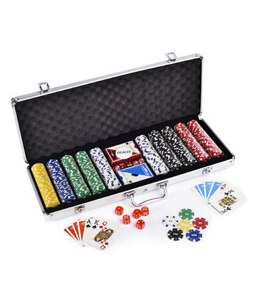 And Retails 300 Pc Poker Game Set