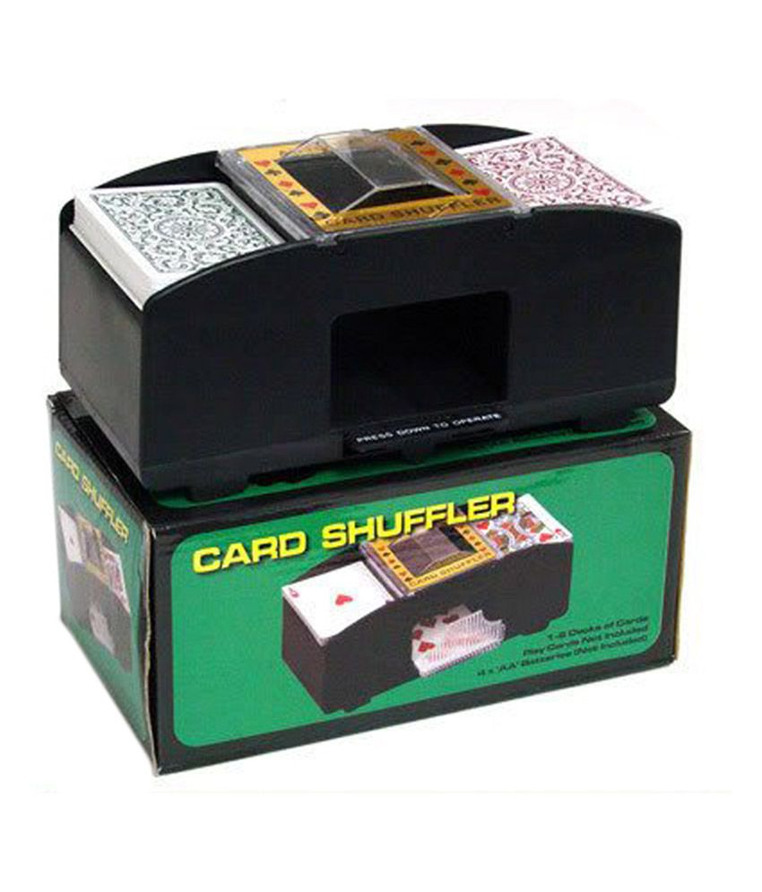 And Retails Automatic 2 Deck Poker Electronic Card Shuffler Machine