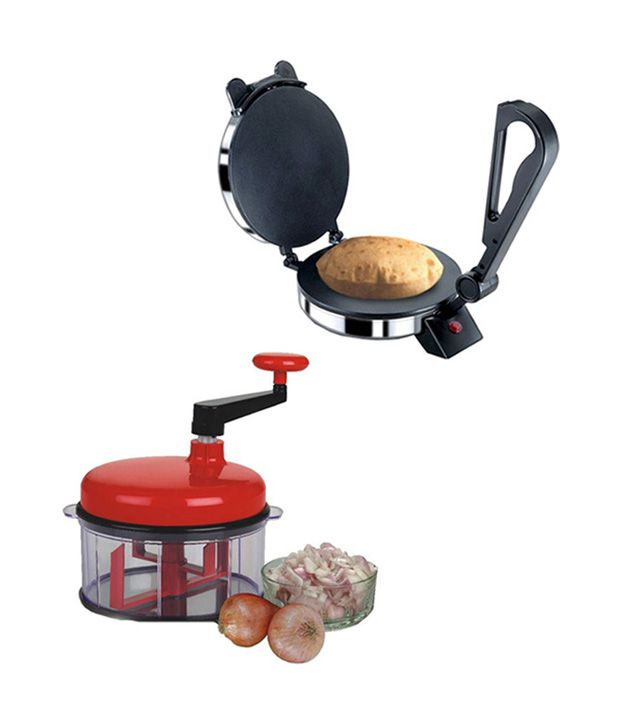 Bensons Roti Maker Combo With Chop n Churn Chopper Multifunctional Food Processor