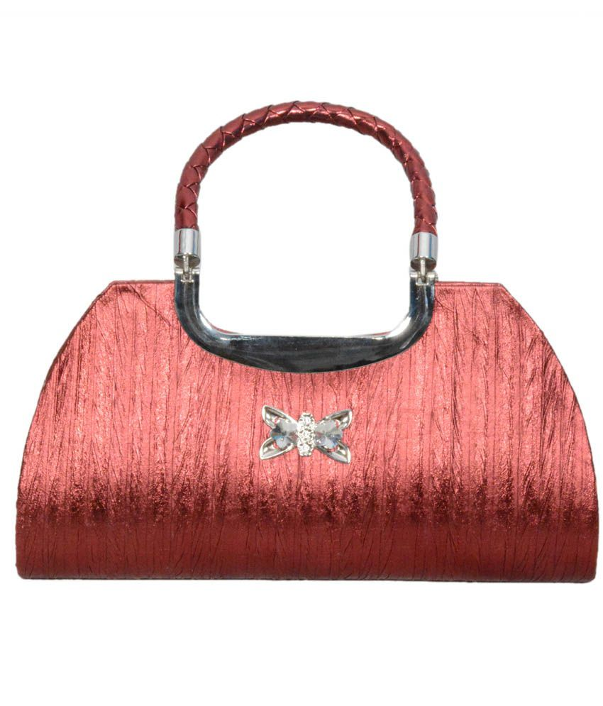 Classic Bags Red Classic Bags Style Clutch - Pair Of 2