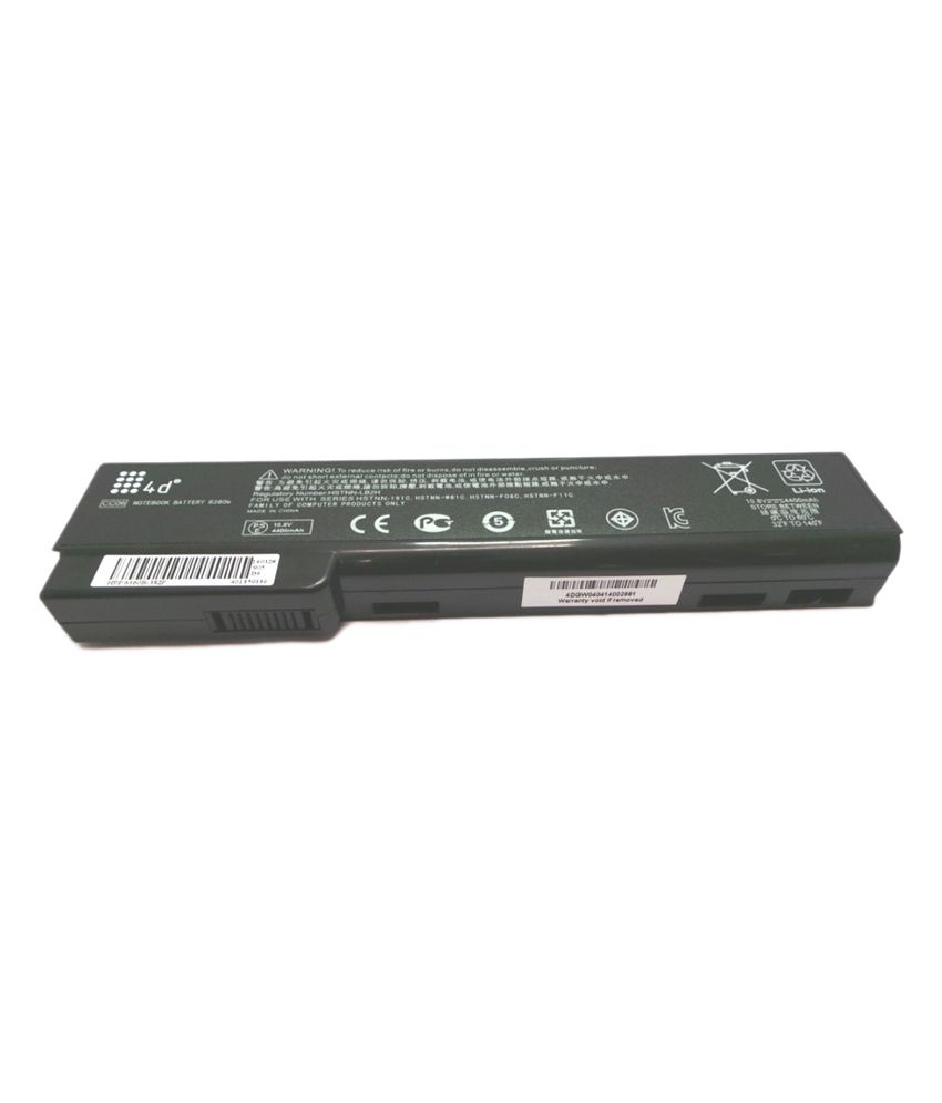 4d Hp Hstnn-ob2f 6 Cell Laptop Battery