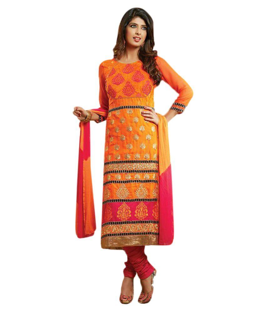 Narayan Fashion Semi Stiched Designer Salwar Suit