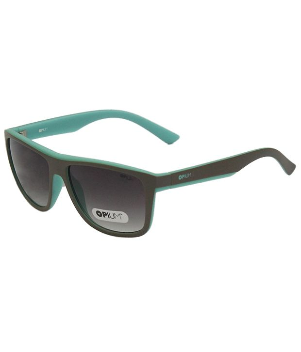 Opium OP-1283-C2 Medium Men$Women Rectangle Sunglasses