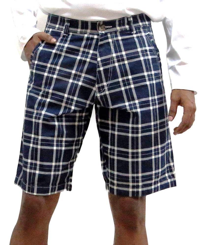 Poe Jeans Shorts Shorts-blue