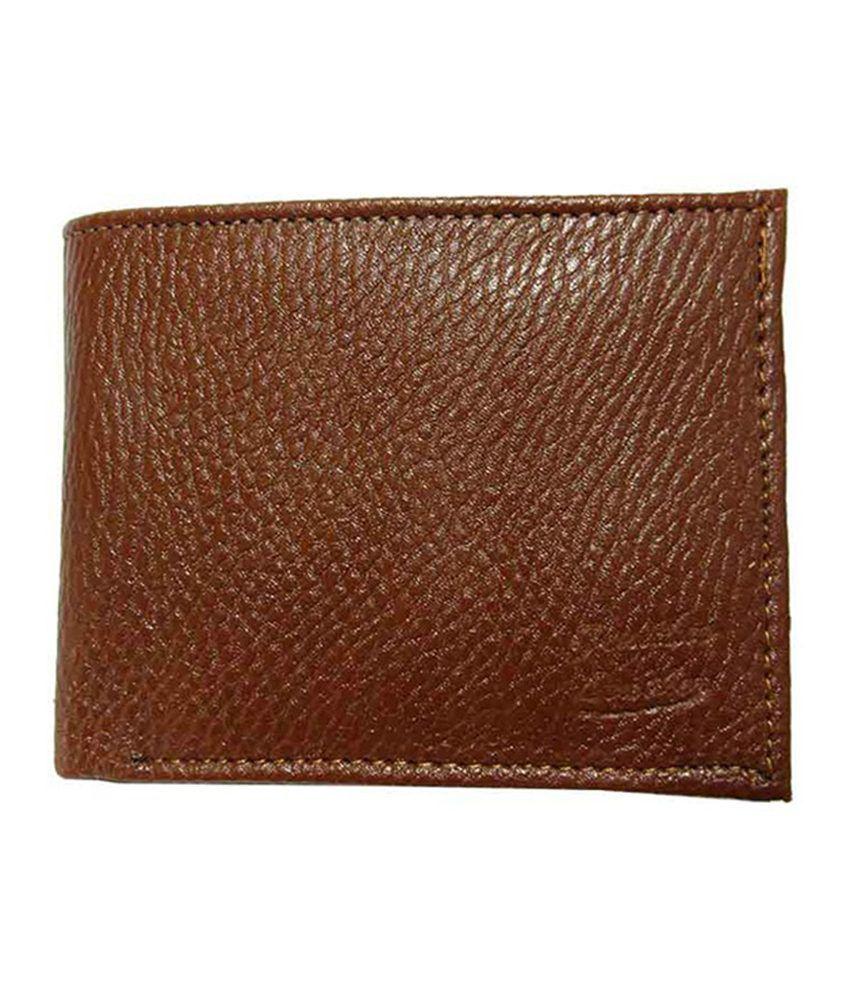 Urfashion Stylish Dark Brown Textured Wallet