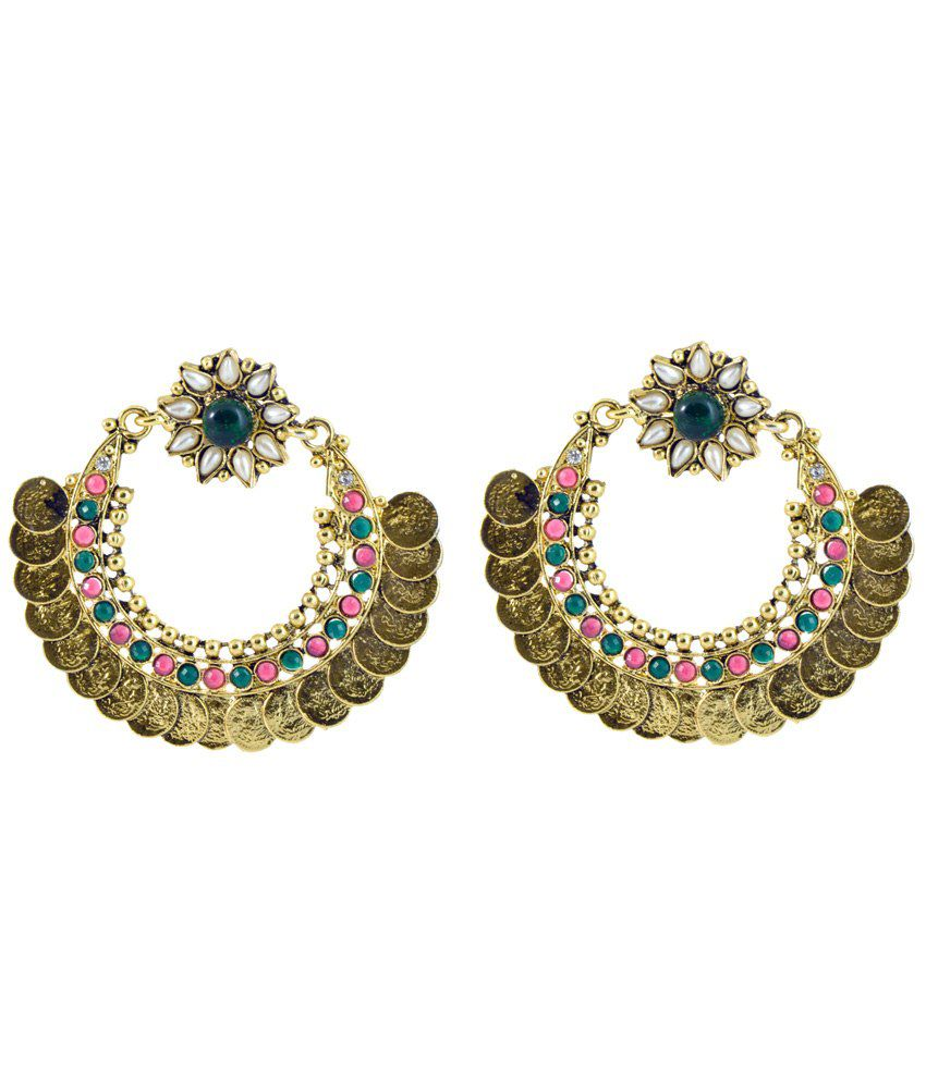Yugshajewels Sparkling Cubic Zirconia Drop Earrings