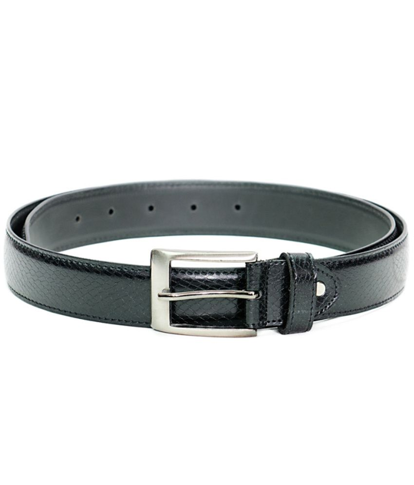 Dezine Plus Black Snack Finish Formal Belt