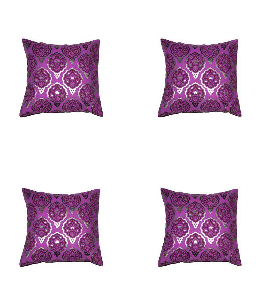 House This Darbaar-buti Set Of 4 Cushion Cover