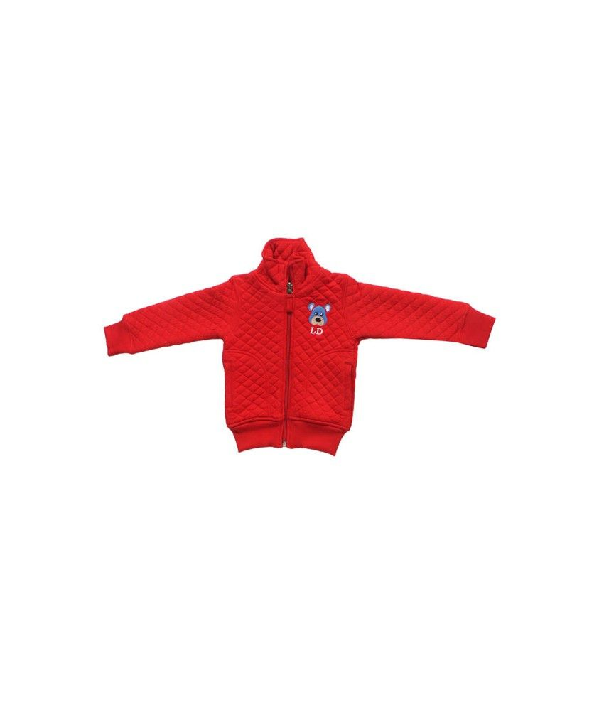 Little Dove Full Sleeve Red Color Jacket (F/S) For Kids