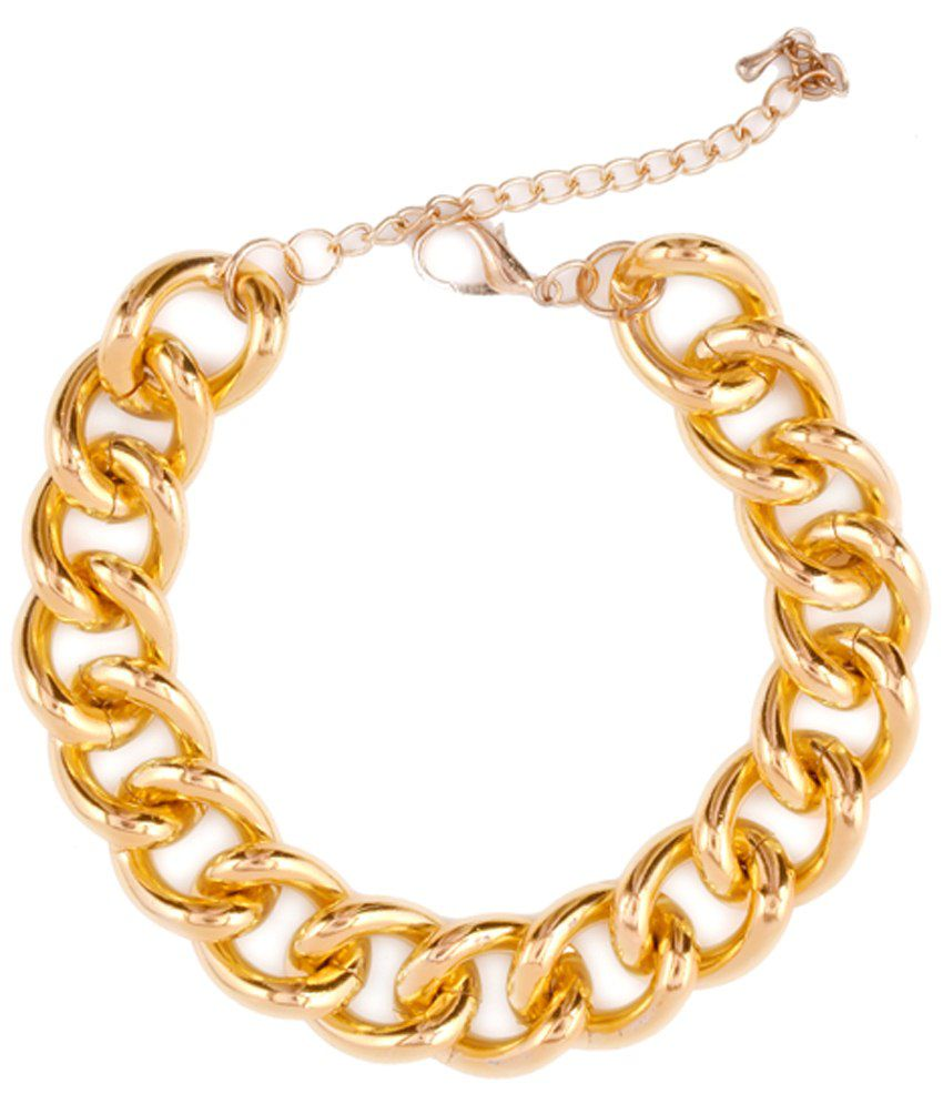Pataaka Chain Of Events Golden Single Anklet
