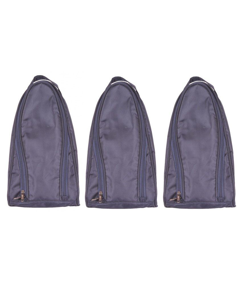 Bags.R.Us Navy Shoe Bag - Pack Of 3