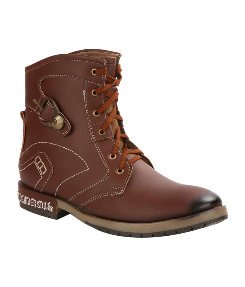 Cameroon Tan Boots