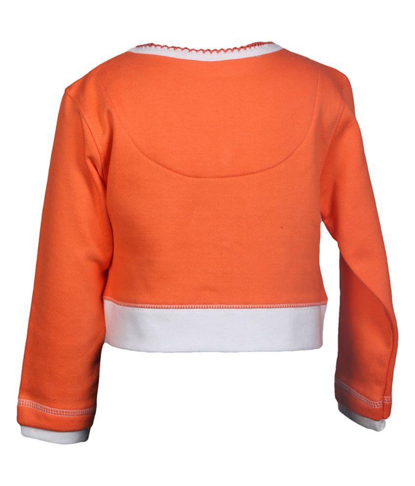 Goodway Infants Full Open Sweatshirt - Orange