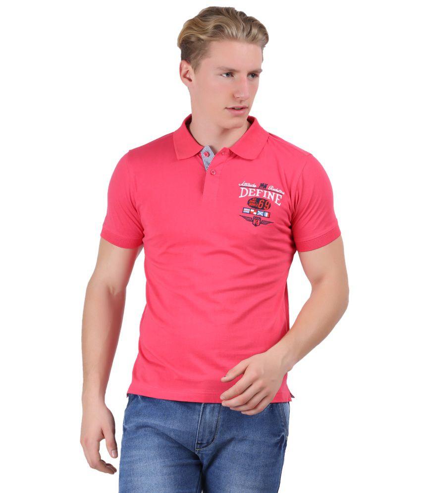 Moonwalker men polo half sleeve t shirt buy moonwalker for Full sleeve polo t shirts