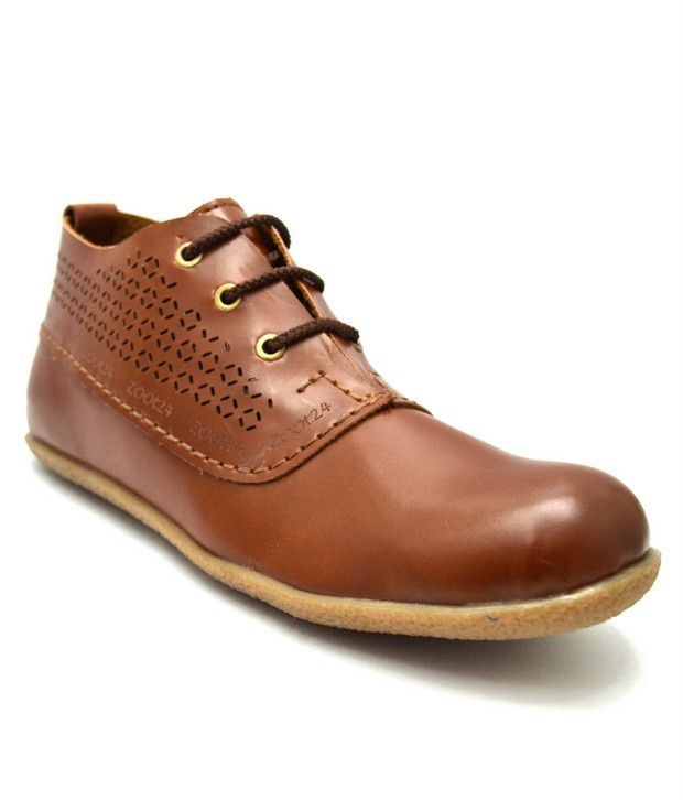 Zoot24 Tan Formal Shoes