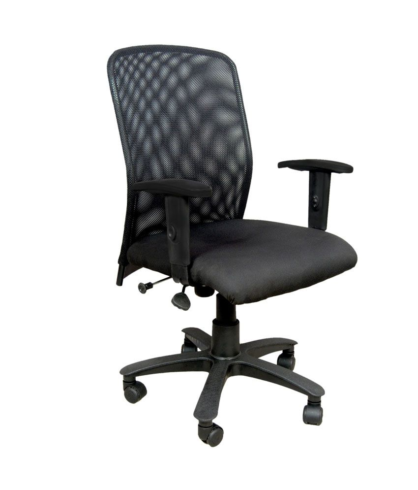 net mesh arms revolving office chair buy net mesh arms revolving rh snapdeal com