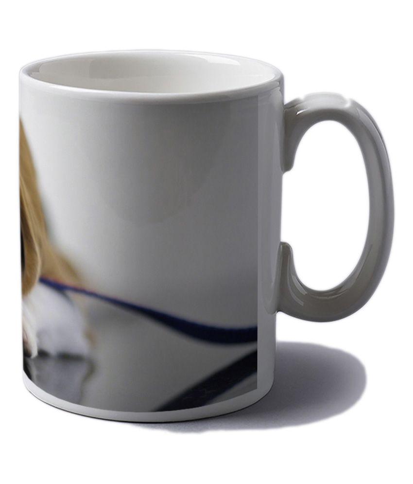 Artifa Cute Dog Coffee Mug 350ml Buy Online At Best