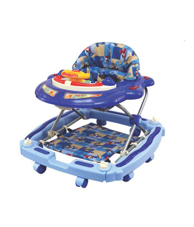 Dash Blue Baby Walker Micky