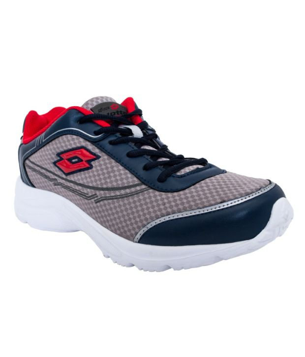 Lotto Gray Sport Shoes