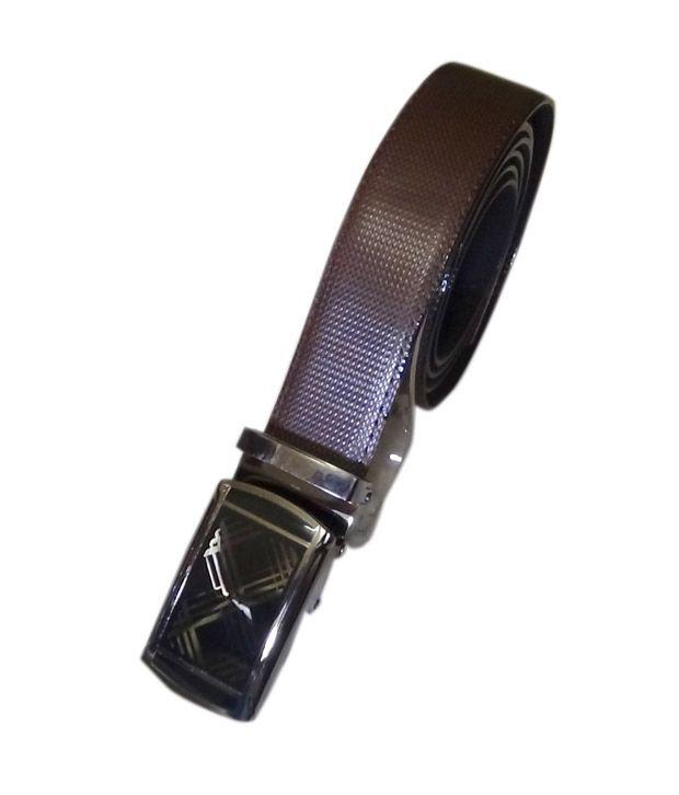 Manshkhino Multi Non Leather Autolock Buckle Belt For Men