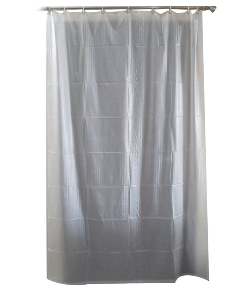 Snuggle Single Shower Curtain White Others