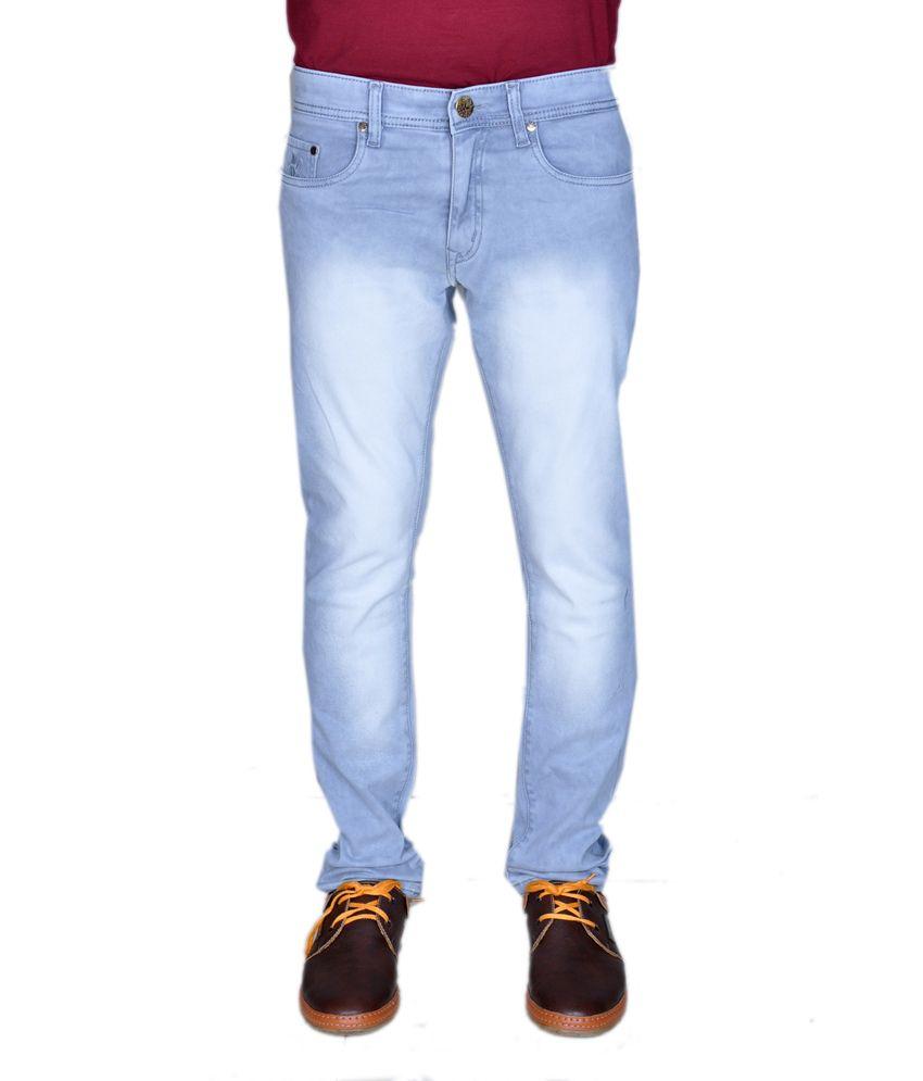 Jeanstar Blue Cotton Jeans