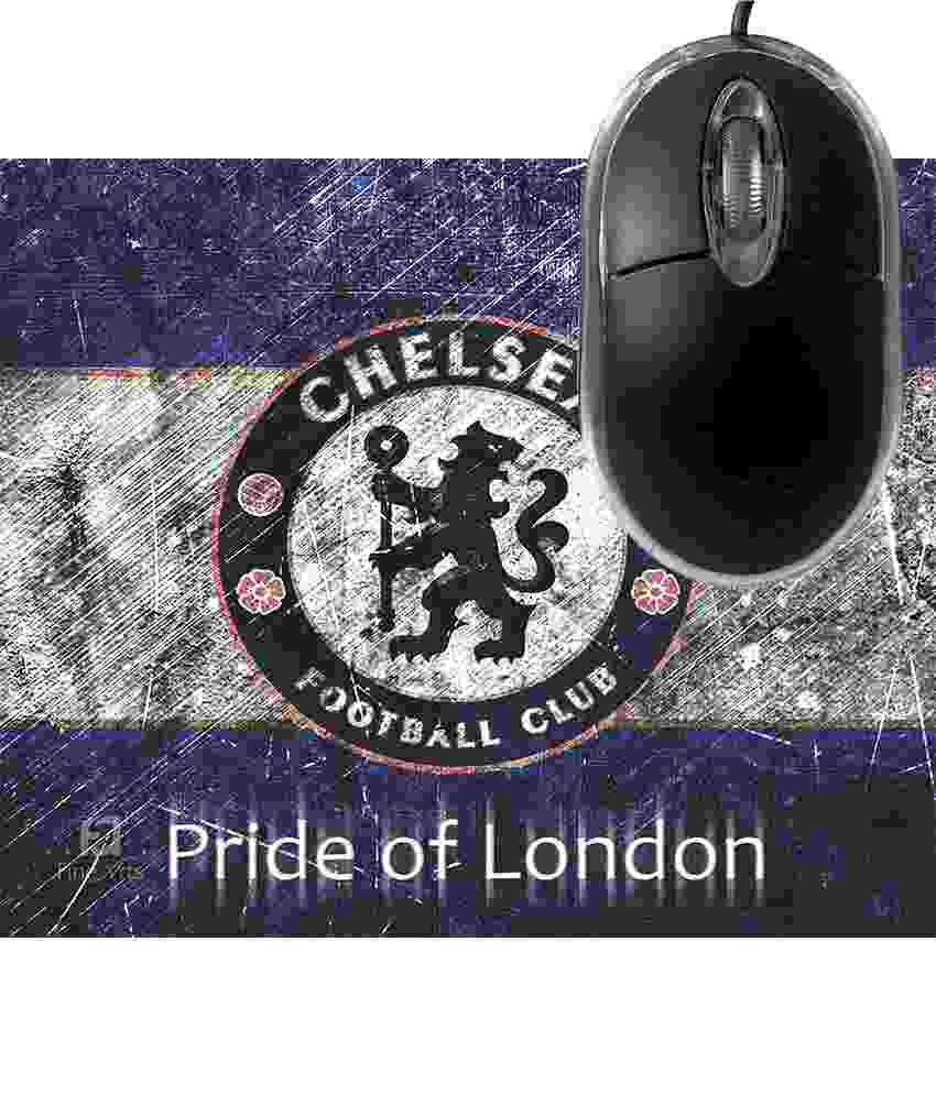 FineArts Chelsea Pride of London Mousepad with Terabyte 3D Optical USB Mouse