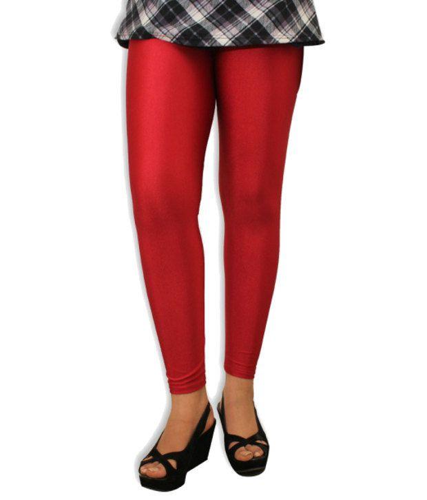 96611335376e99 Discownt Red Silk Leggings Price in India - Buy Discownt Red Silk Leggings  Online at Snapdeal